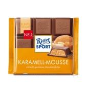 Шоколад Риттер спорт (Ritter Sport) карамельный мусс, 100 г – ИМ «Обжора»