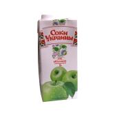 Сок  Соки Украины Яблоко 1 л – ИМ «Обжора»