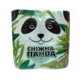 Туалетная бумага Снежная Панда Бамбук 4 шт – ИМ «Обжора»
