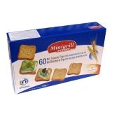 Тосты Минигрилл (Minigrill) пшеничные с низким содержанием соли 120 г – ИМ «Обжора»