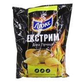 Чипсы Люкс экстрим 120г горчица – ИМ «Обжора»