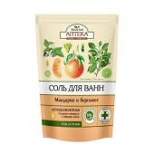 Соль для ванной Зеленая аптека Мандарин и бергамот 500 г – ИМ «Обжора»