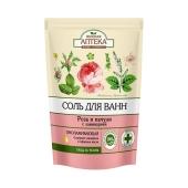 Соль для ванной Зеленая апетека Роза и пачули 500 г – ИМ «Обжора»