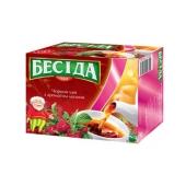 Чай Беседа Малина 50п – ИМ «Обжора»