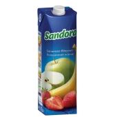 Нектар Сандора (Sandora) Банан-яблоко-клубника 1 л – ИМ «Обжора»