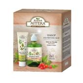 Набор Зеленая Аптека Питание(жидк.мыло+крем д/рук) – ИМ «Обжора»