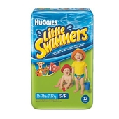Підгузки HUGGIES Little Swimmers Naz (3-4 кг) 12 шт EU – ІМ «Обжора»