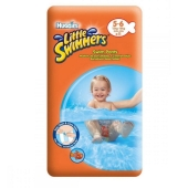 Підгузки HUGGIES Little Swimmers Naz (5-6 кг) 11 шт EU – ІМ «Обжора»