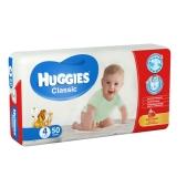 Підгузки HUGGIES Класик 4 (7-18кг) 50 шт – ІМ «Обжора»