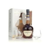 Коньяк Курвуазье (Courvoisier) ВС 0,7л + 2 стакана – ИМ «Обжора»