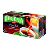 Чай Беседа Крепкий черный 24п – ИМ «Обжора»