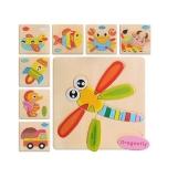 Деревянная игрушка Пазлы MD 0689 8 видов – ИМ «Обжора»