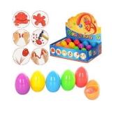 Жевачка для рук  MK 0444 в пласт.яйце,6цвет. – ИМ «Обжора»