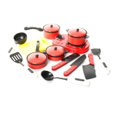 Набор Кухня 1683 плита, каструли, сковорода 30-21,5-3 см – ИМ «Обжора»
