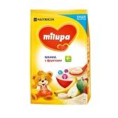 Каша Милупа (Milupa) молочная манная с фруктами 210г – ИМ «Обжора»