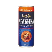 Напиток кофейный Летс Би Чоко Латте (Let's Be Choco Latte) Арабика 0,175 л – ИМ «Обжора»