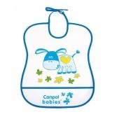 Нагрудник Canpol пластиковий м`який 2/919 – ІМ «Обжора»