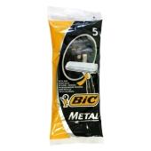 Станки для бритья Бик (ВIС) Classic Metal 5 шт – ИМ «Обжора»