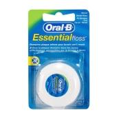 Зубная нить Орал Би (ORAL-B) Essential Floss Восковая 50м – ИМ «Обжора»