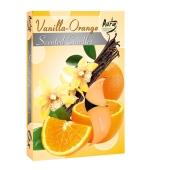 Аромасвеча Биспол (Bispol) Ваниль-апельсин 6 шт – ИМ «Обжора»