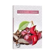 Аромасвеча Биспол (Bispol) Шоколад-вишня 6 шт – ИМ «Обжора»