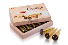 Конфеты Бисквит-шоколад (ХБФ) стрела 180 г – ИМ «Обжора»