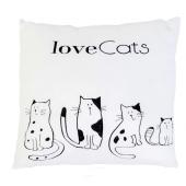 Подушка  Love cats  ПД-0169 – ИМ «Обжора»