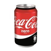 Вода Кока-кола (Coca-Cola) Zero 0,33 л – ИМ «Обжора»