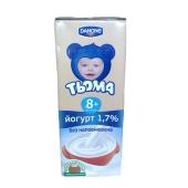 Йогурт Тема натуральный 1,7% 207г – ИМ «Обжора»