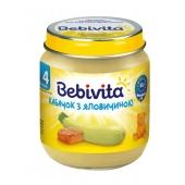 Пюре Бебивита (Bebivita) кабачок с говядиной 125 г – ИМ «Обжора»