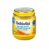 Пюре Бебивита (Bebivita) овощное ассорти-курица 125 г – ИМ «Обжора»