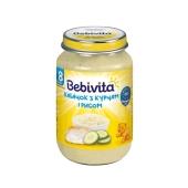 Пюре Бебивита (Bebivita) кабачок с курицей и рисом 220 г – ИМ «Обжора»