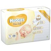 Подгузники Хаггиз (Huggies) elite soft (1)  26шт – ИМ «Обжора»