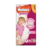 Підгузки HUGGIES PANT трусики-Підгузки mega 6 д/дів – ІМ «Обжора»