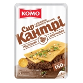 Сыр нарезка Комо Кантри 50% 150 г – ИМ «Обжора»