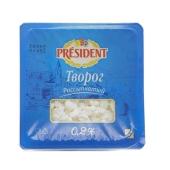 Творог Президент 0,2% 400г легкий – ИМ «Обжора»