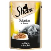 Корм Шеба (Sheba) cig POU Курица в соусе 85 г – ИМ «Обжора»
