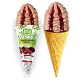 Мороженое Белая Береза Пломбир какао-ваниль-вишня, 155 г – ИМ «Обжора»