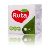 Салфетки Рута (Ruta) белые 100 шт – ІМ «Обжора»