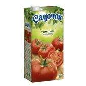 Сок Садочок томат с солью 2 л – ИМ «Обжора»