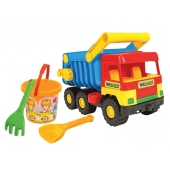 Песочный набор Middle truck 4 ед. 39159 – ИМ «Обжора»