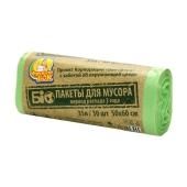 Пакеты Фрекен Бок для мусора  БІО ХД 50х60/35 л – ИМ «Обжора»