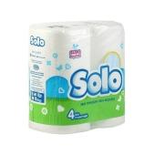 Туалетная бумага Соло (Solo) Ультра 4 шт. – ИМ «Обжора»