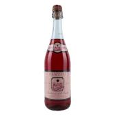 Вино игристое Сантини (Santini) Ламбруско Розато розовое п/сл 0,75 л – ИМ «Обжора»