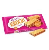 Вафли Рошен (Roshen) Krock молоко/шоколад 40г – ИМ «Обжора»