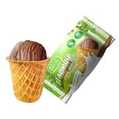 Мороженое Белая Береза Шоколадный пломбир в сахарном стакане 70 г – ИМ «Обжора»