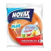 Набор Мелочи жизни одноразовая посуда на 6 персон  NV Plus – ИМ «Обжора»