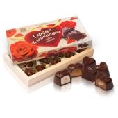 Конфеты Бисквит-шоколад (ХБФ) сердце Клеопатры 235 г – ИМ «Обжора»