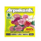 Удобрения Агрикола для цветущих растений 25 г 04-061 – ИМ «Обжора»
