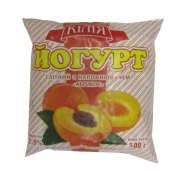 Йогурт Килия Абрикосовый 2,5% 500 г – ИМ «Обжора»